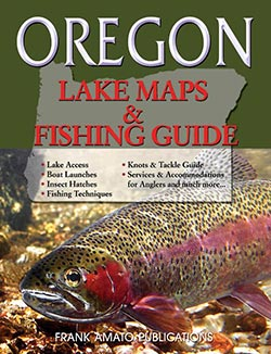 Oregon Lake Maps book